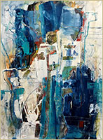 Abstract Painting by Rina Gottesman